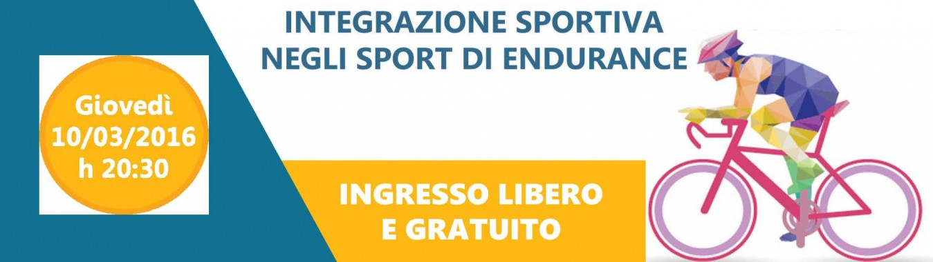 Integrazione sportiva negli sport di endurance