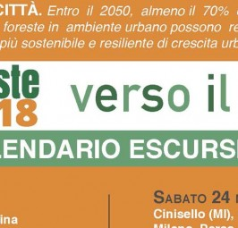 Calendario escursioni Cammina foreste urbane 2018